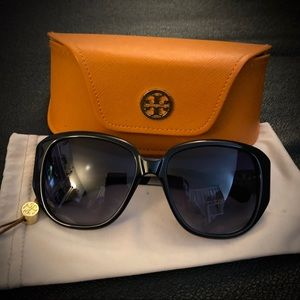 Authentic Tory Burch TY7014 Sunglasses Blk